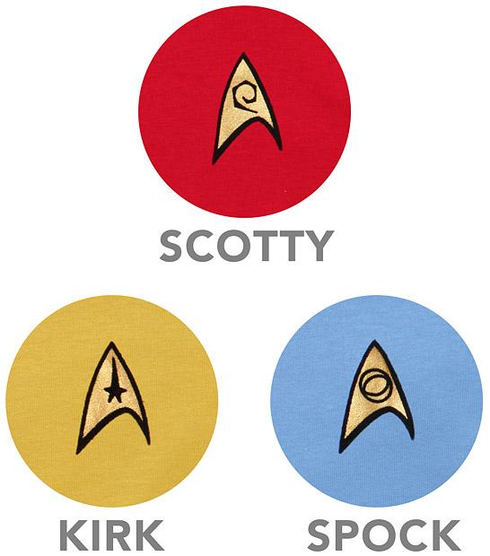 Star Trek OS Ladies Sleep Shirt