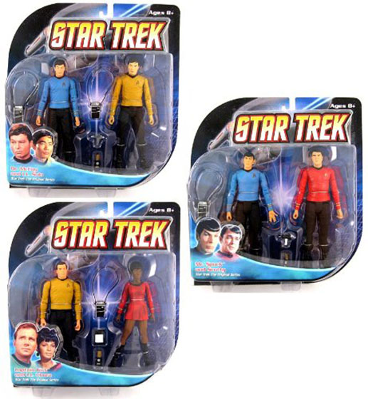 Star Trek Original Figure Set of 6