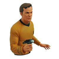 Star Trek Original Series Captain Kirk Bust Bank