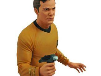 Star Trek Original Series Captain Kirk Bust Bank
