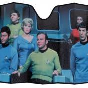 Star Trek Original Series Captain Kirk and Crew Sunshade