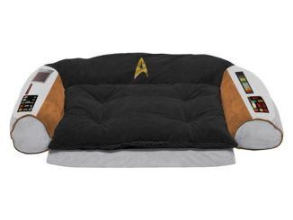 Star Trek Original Series Captains Chair Dog Bed