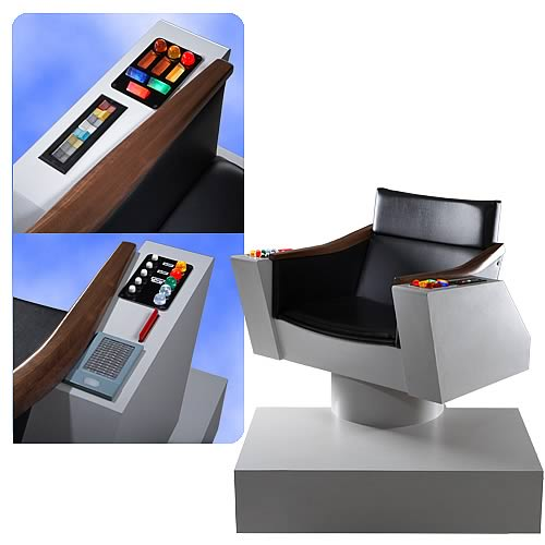 Star Trek Original Series Captain's Chair Replica