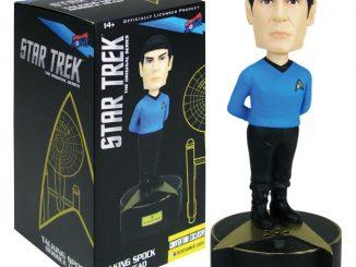 Star Trek Original Series Talking Spock Bobble Head