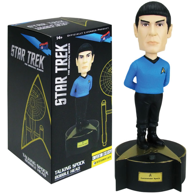 Star Trek Original Series Talking Spock Bobble Head