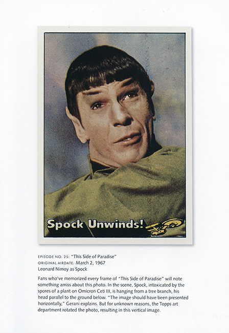 Star Trek Original Series Ultimate Topps Card Book