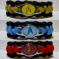 Star Trek Paracord Bracelets
