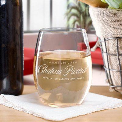 Star Trek Picard Chateau Picard Stemless Wine Glass