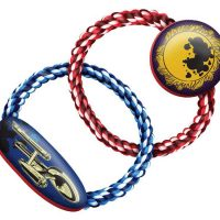 Star Trek Planetary Disaster Dog Rope Chew Toy