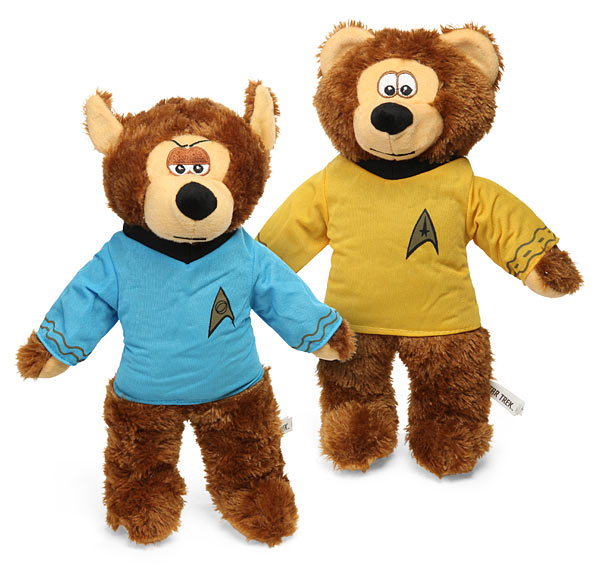 Star Trek Plush Bears