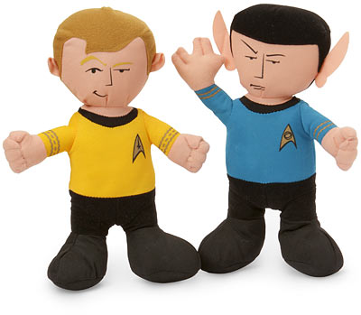 Star Trek Plush Kirk and Spock