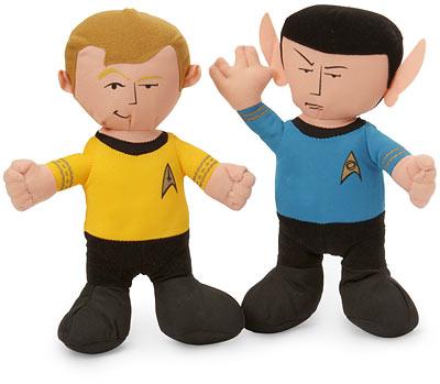 Star Trek Plush Kirk and Spock