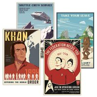 Star Trek Propaganda Prints