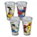 Star Trek Quotes Pint Glasses
