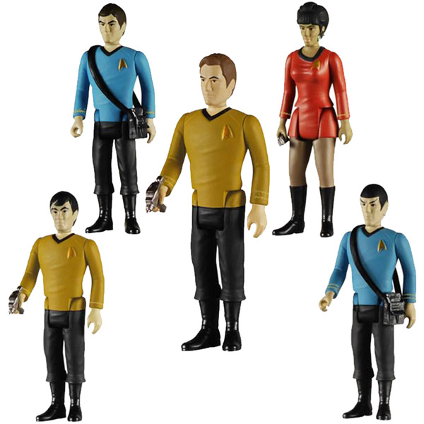 Star Trek ReAction 3 3-4-Inch Retro Action Figures
