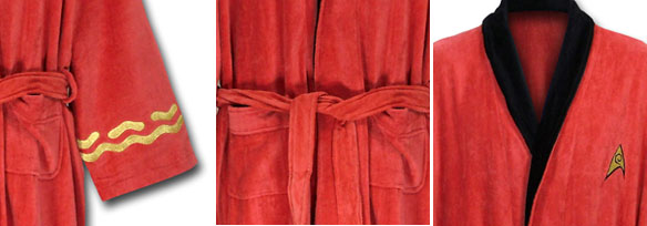 Star Trek Red Security Bathrobe