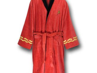 Star Trek Red Security Terry Cloth Robe