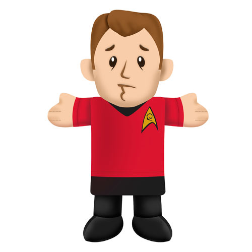 Star Trek Red Shirt 12 Inch Dog Chew Toy Plush