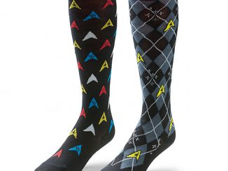 Star Trek Repeat Pattern Over-the-Knee Socks 2-Pack
