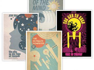 Star Trek Retro Episode Posters