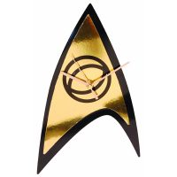 Star Trek Science Badge Emblem Wall Clock