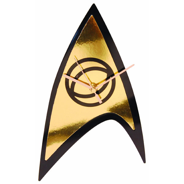 Star Trek Science Badge Emblem Wall Clock