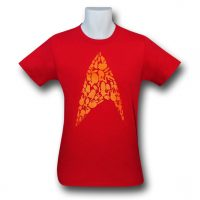 Star Trek Ships Insignia 30 Single TShirt