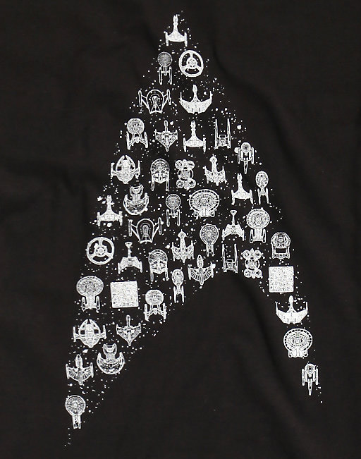 Star Trek Ships Insignia Shirt