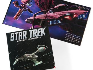 Star Trek Ships of the Line 2014 Wall Calendar