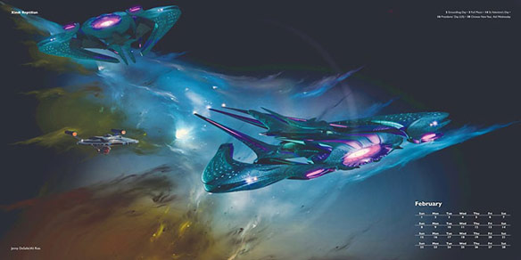 Star Trek Ships of the Line 2015 Calendar