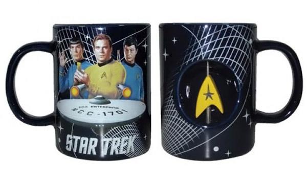 Star Trek 12 Oz Spinner Mug