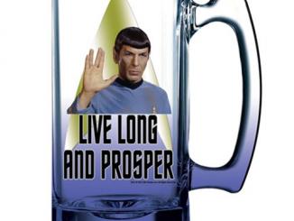 Star Trek Spock 16 oz. Beer Mug
