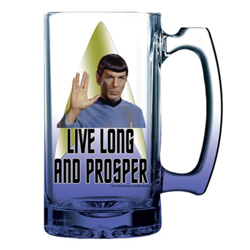 Star Trek Spock 16 oz. Beer Mug