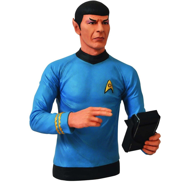 Star Trek Spock Bust Bank