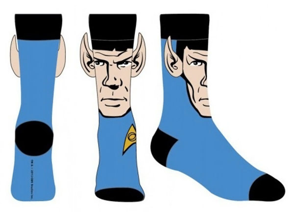 Star Trek Spock Crew Sock with Ears