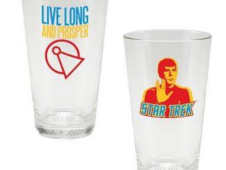 Star Trek Spock Live Long and Prosper Glass Tumbler