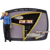 Star Trek Spock Live Long and Prosper Picture Frame
