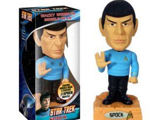 Star Trek Spock Talking Wacky Wobbler