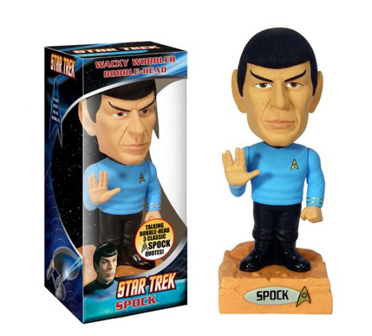 Star Trek Spock Talking Wacky Wobbler
