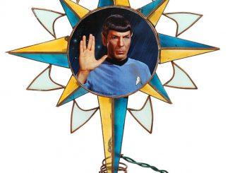 Star Trek Spock Tree Topper