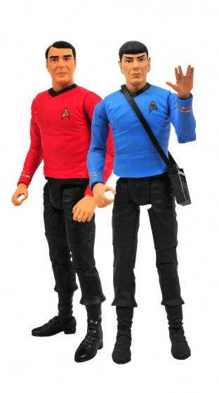 Star Trek Spock and Scotty