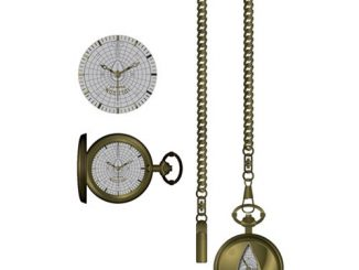 Star Trek Star Fleet Cutout Pocket Watch