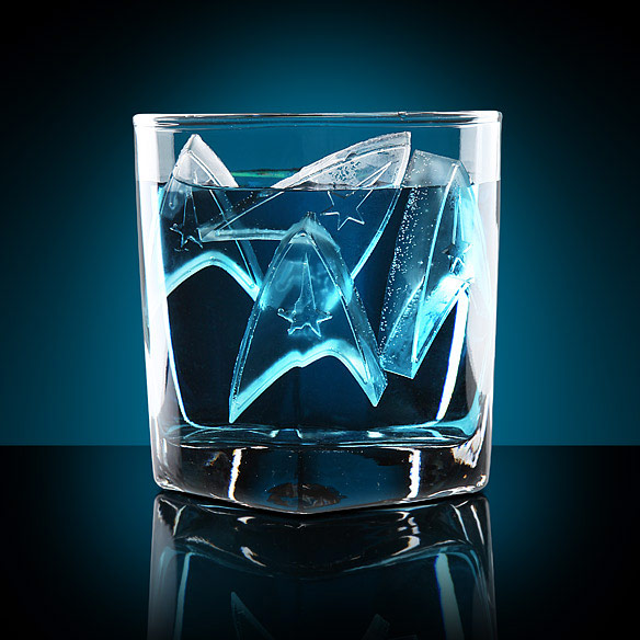 Star Trek Starfleet Ice Cube Tray