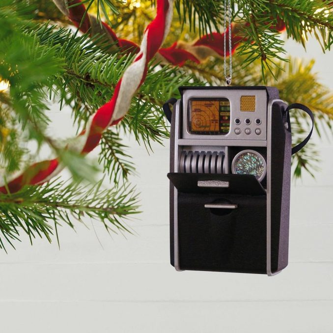 Star Trek Starfleet Tricorder Christmas Ornament