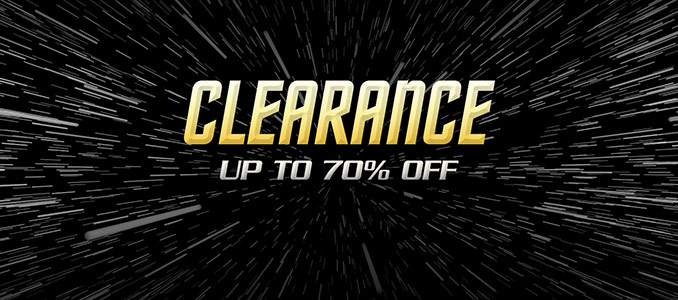 Star Trek Store Clearance Sale