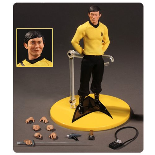 Star Trek Sulu 1 12 Collective Action Figure