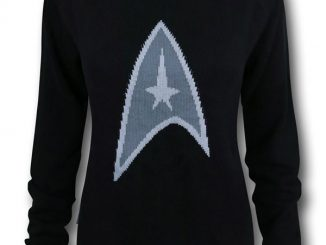 Star Trek Symbol Women's Sweater