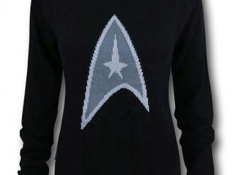 Star Trek Symbol Women's Sweater