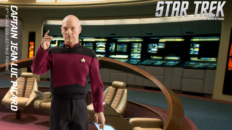 Star Trek TNG Captain Jean-Luc Picard Sixth Scale Action Figure