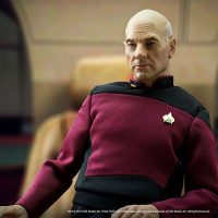 Star Trek TNG Captain Picard 1 6 Scale Articulated Figure